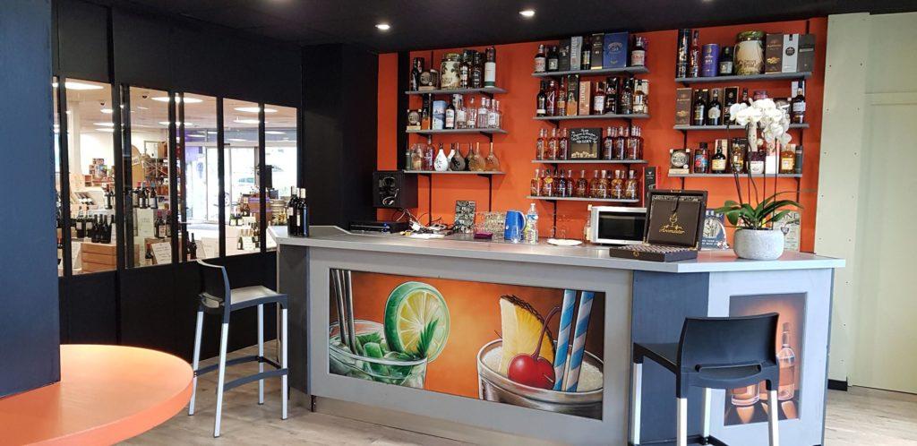 Salle de dégustation pour les cours d'œnologie - Vini'Gusto lorient (morbihan)
