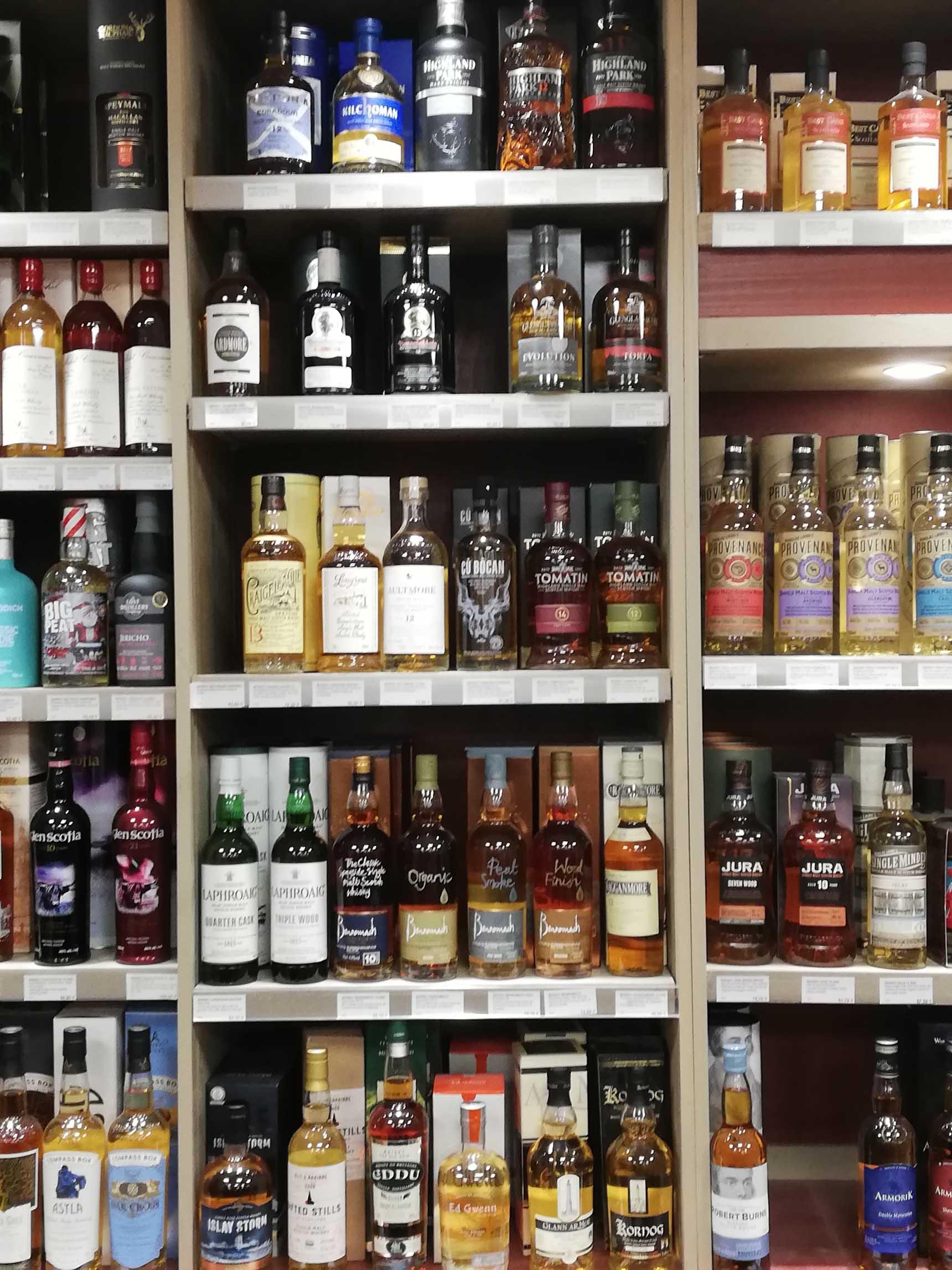 Soirée autour du whisky