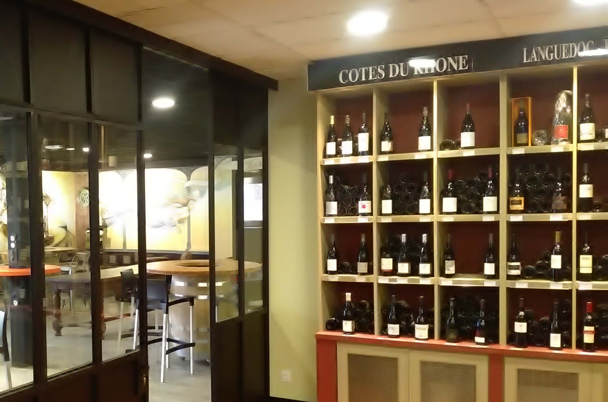 Une large sélection de vins- caviste ViniGusto Lorient (Morbihan)